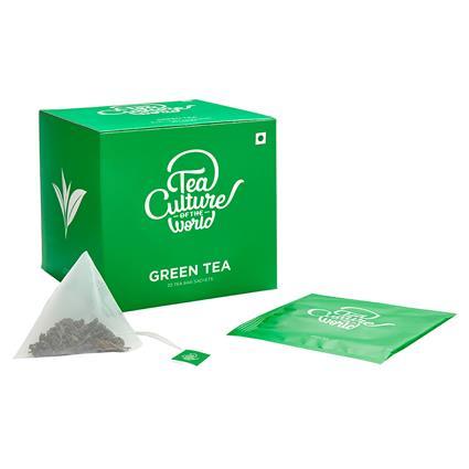 TCW GREEN TEA 20 TEA BAGS 40G BX