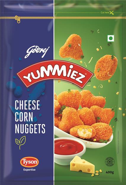 Cheese Corn Nuggets - Yummiez