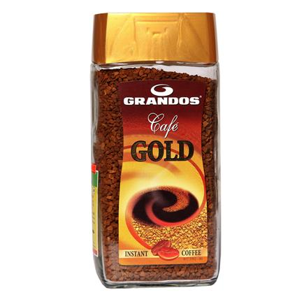 GRANDOS CAFE GOLD COFFEE JAR 100G