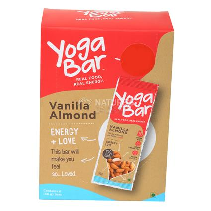 YOGA BAR VANILLA ALMOND 38g