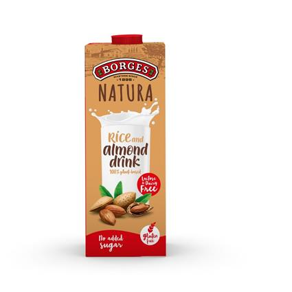 BORGES NATURA RICE & ALMOND DRINK 1L