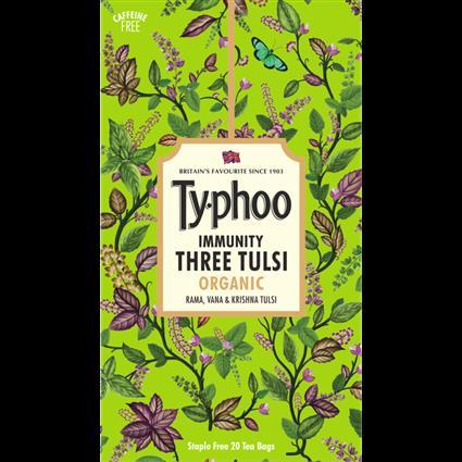Typhoo Immunity Three Tulsi Organic