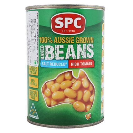 SPC BAKED BEANS RICH TOMATO 425 G