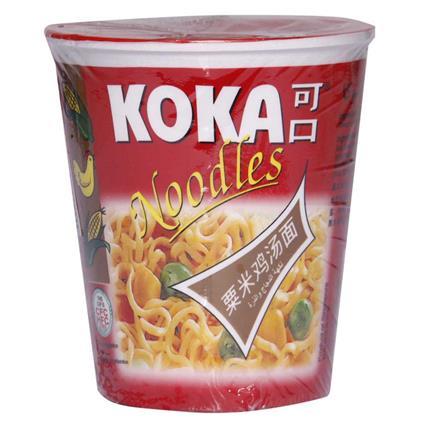Instant Noodles - Chicken & Corn Flavour - Koka