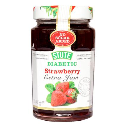Diabetic Strawberry Extra Jam - Stute