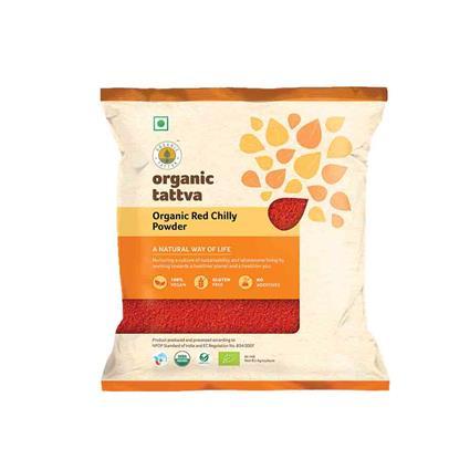 Red Chilly Powder Organic - Organic Tattva