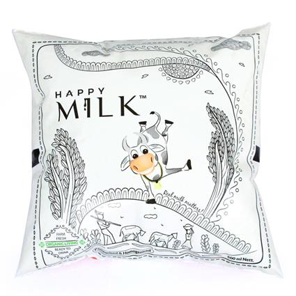 Organic Farm Fresh Cow's Milk - Happy Milk