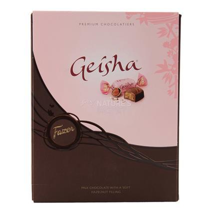 Geisha Milk Chocolate W/ Hazelnut Filling - Fazer