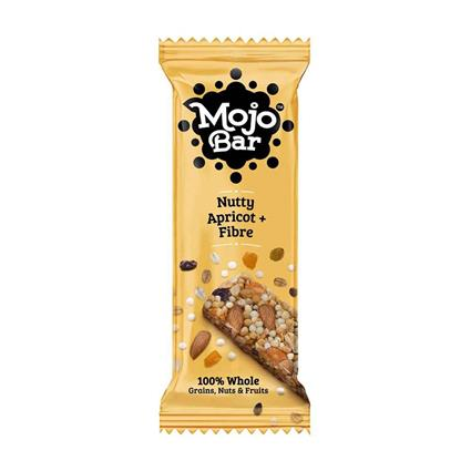 Nutty Apricot + Fibre Snack Bar - Mojo Bar
