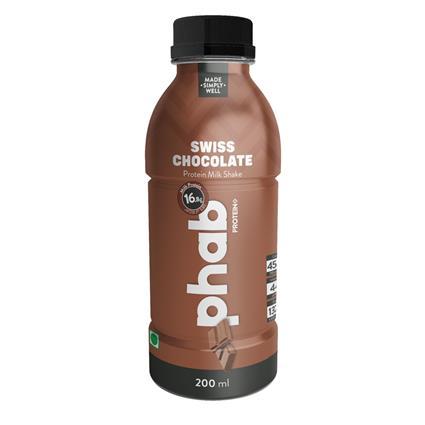 Phab Milkshake Swiss Chocolate 200 Ml