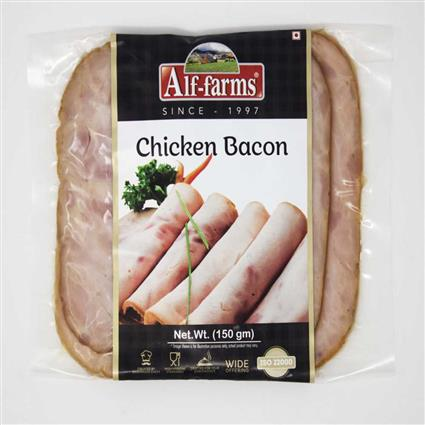 ALF FARMS CHICKEN BACON 150 G