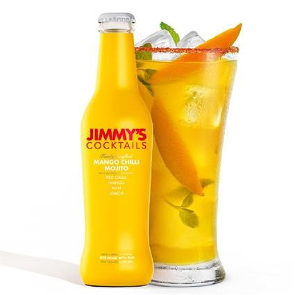 Jimmy's Cocktails - Mango Chilli Mojito 250ML