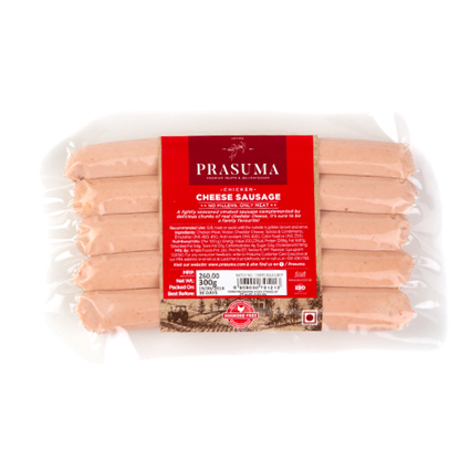Chicken N Cheese Sausage - Prasuma