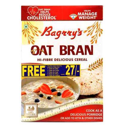 Oat Bran Hi Fibre Cereal - Bagrry's