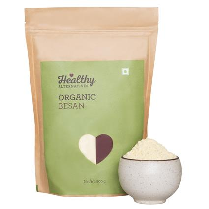 Organic Besan - Healthy Alternatives