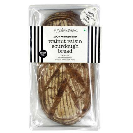 WALNUT RAISIN (SOURDOUGH) BREAD 100% WHOLEWHEAT