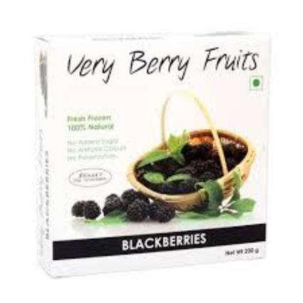 VERY BERRY FRUITS BLACKBERRIES 200G