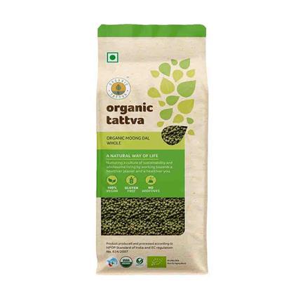 Moong Dal Whole Organic - Organic Tattva