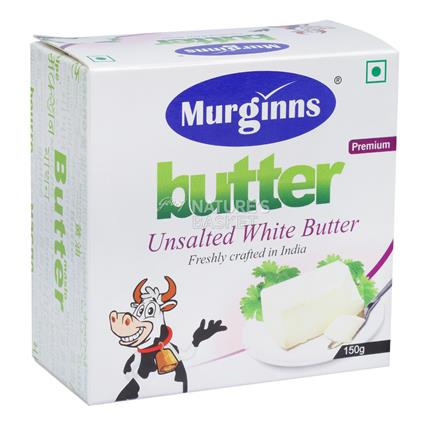 MURGINNS UNSALTED WHITE BUTTER 125G