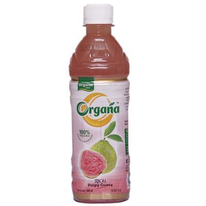 Organa Oragnic Pulpy Guava Juice 500 Ml