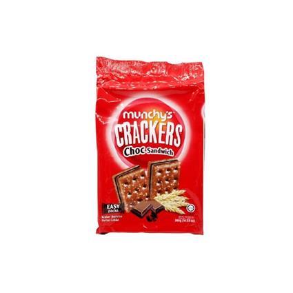 MUNCHY's CHOCOLATE S WICH CRACKER 300G