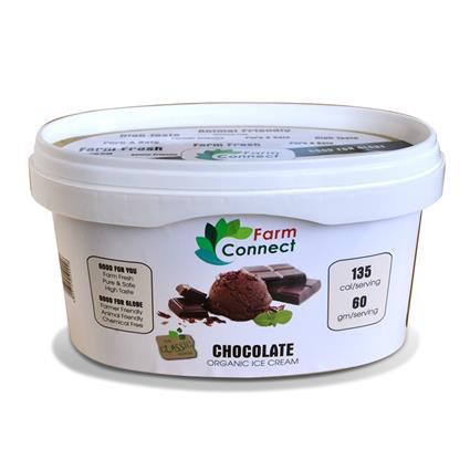 FARM CONNECT CHOCOLATE ICE CREAM 500ML