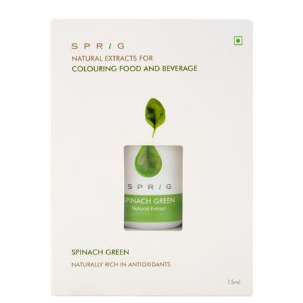 SPRIG NATURAL COLOUR SPINACH GREEN 15ML