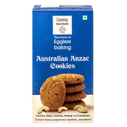 LOVELY BAKERY AUSTRA ANZAC COOKIES 200G