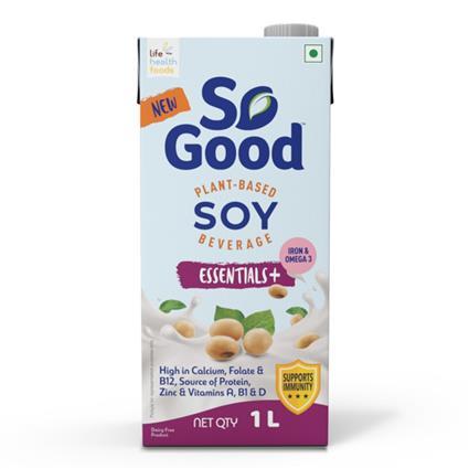 Sogood Soy Beverage Essential+ 1Ltr