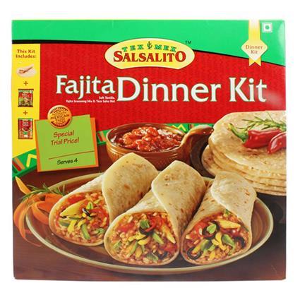 SALSALITO FAJITA DINNER KIT 488G