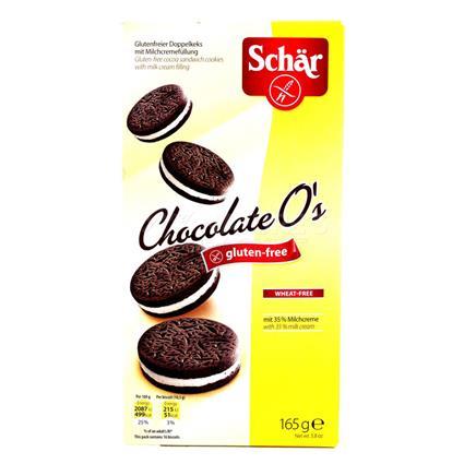 SCHAR GF CHOCO OS SANDWICH COOKIES 165G