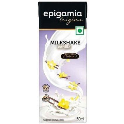 Epigamia UHT Milkshakes Vanilla  &Nbsp;- 180Ml