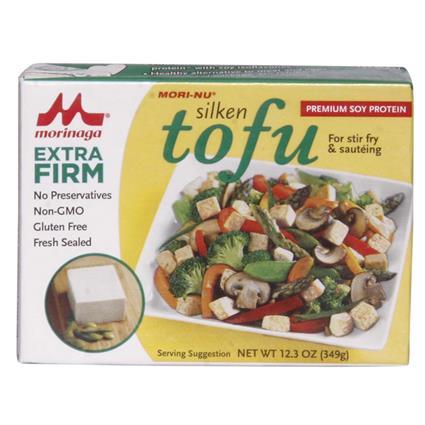 Silken Tofu  -  Extra Firm - Mori - Nu