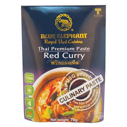 Thai Cuisine Red Curry Paste - Blue Elephant