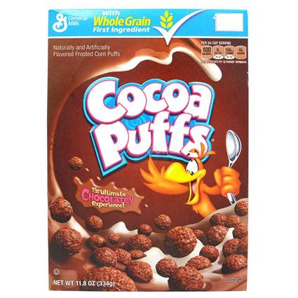 GENERAL MILLS COCO PUFF CEREAL 334G