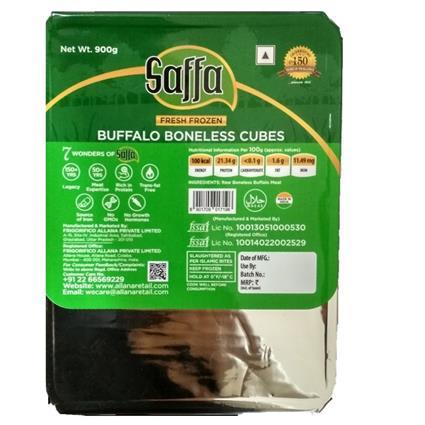 SAFFA BUFFALO BONELESS CUBES 900G