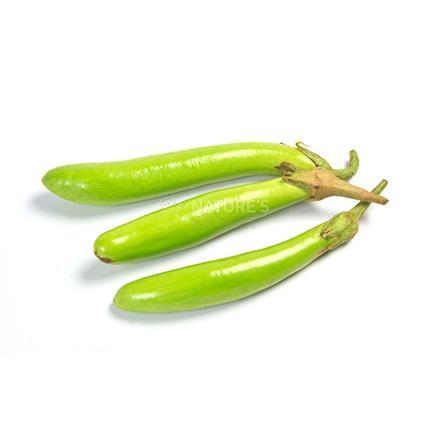 Brinjal Long Green  -  Surti