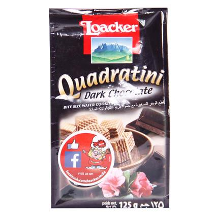 Quadratini Dark Chocolate Wafer - Loacker