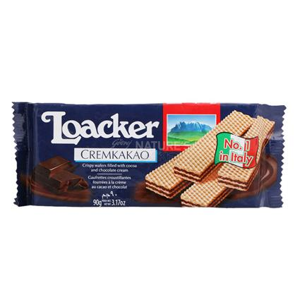 Cream Of Kakao Wafer Biscuit - Loacker