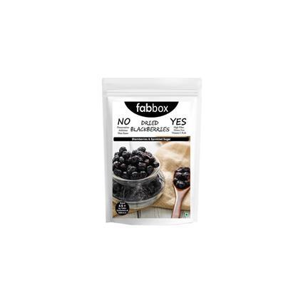 FABBOX DRIED BLACKBERRIES 140G
