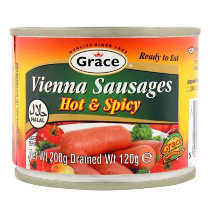 Vienna Sausages Hot & Spicy - Grace