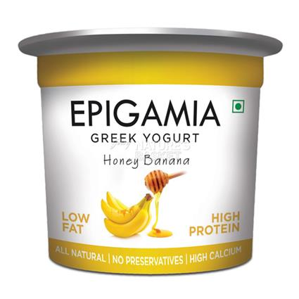 Honey Banana Greek Yoghurt - Epigamia
