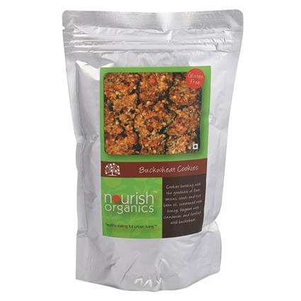 NOURISH ALMOND BUCKWHEAT COOKIES 150G