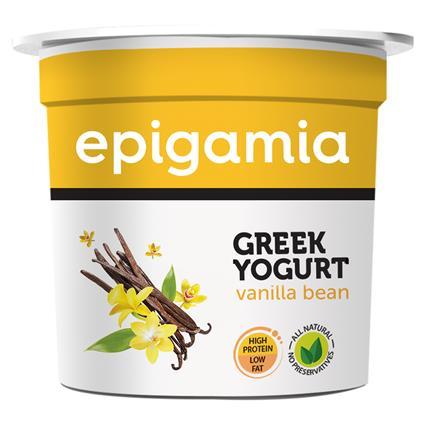 Greek Yoghurt Vanilla Bean - Epigamia