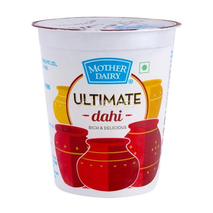 MOTHER DAIRY ULTIMATE DAHI 400G CUP