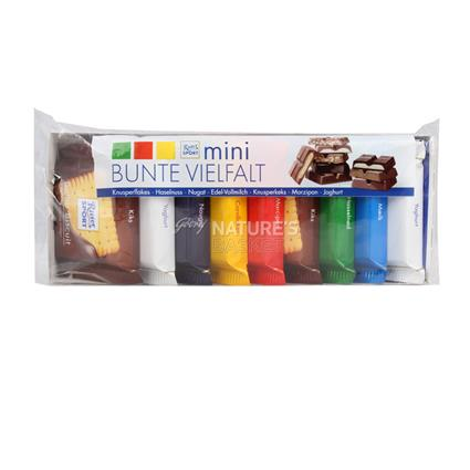Mini Assorted Chocolates  -  Pack Of 9 - Ritter Sport