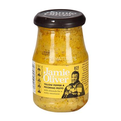 Yellow Pepper Pecorino Pesto - Jamie Oliver
