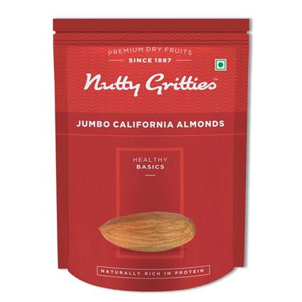 NUTTY GRITTIES JUMBO CALIF ALMONDS 223G