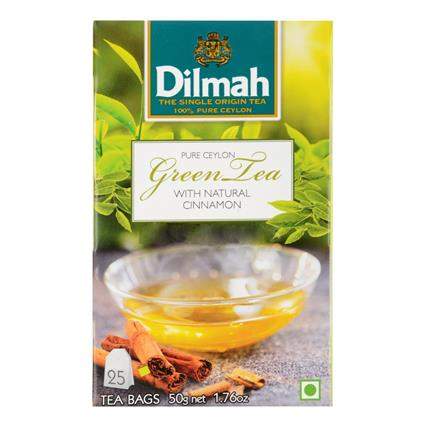 Green Tea W/ Natural Cinnamon - 25 Tb - Dilmah