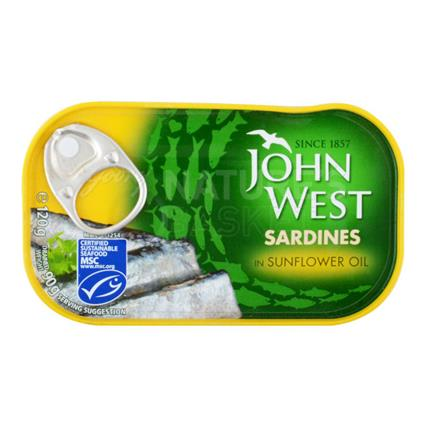 Sardines In Sunflower Oil - John West